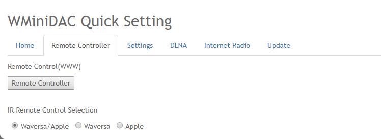 WMiniDAC ファームウェア v2.1.9アップデート