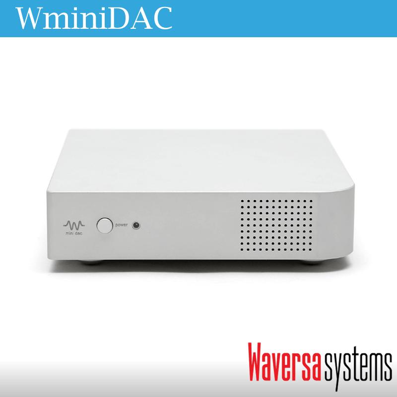 ネットワーク対応WAP搭載フルバランスDAコンバーター WaversaSystems WMiniDAC